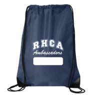 RHCA K-5 Drawstring Bag (Printed RCHA Logo) - Navy