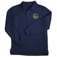 WMS Long Sleeve Polo Shirt - Navy