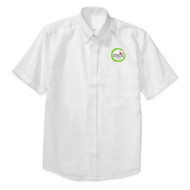 WMS Oxford Short Sleeve Shirt - White