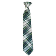 WMS Girls Pre Knotted Neck Tie - Plaid