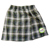 WMS Girls Skort - Plaid