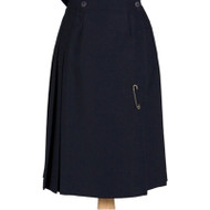 WMS Pleated Kilt - Navy