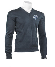 MCP Youth V-Neck Durapil Ultra Acrylic Sweater - Navy