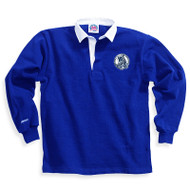 MCP Adult Royal Barbarian Solid Classic 12 Oz. Rugby Shirt - Royal