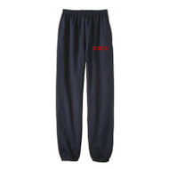 RHCA K-5 Sweatpants with Embroidery (Adult Sizes) - Navy