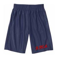 RHCA K-5 Dazzle Gym Shorts - Printed Logo (Adult Sizes) - Navy
