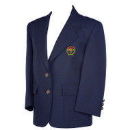 RHCA 9-12 Boys Blazer (with Embroidered Crest) - (Adult Sizes)  - Navy