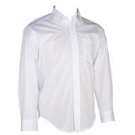 RHCA 9-12 Girls Long Sleeve Oxford Shirt (Adult Sizes) - White