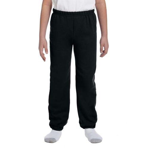MCP Gildan Youth Heavy Blend 50/50 Sweatpants - Black