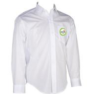 WMS Boys Oxford Long Sleeve Shirt - White