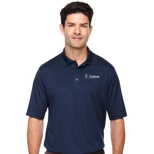 DPS Ash City Adult Short Sleeve Polo Shirt - Navy (144-D-NY)