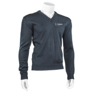 DPS Adult V-Neck Durapil Ultra Acrylic Sweater - Navy (144-G-NY)