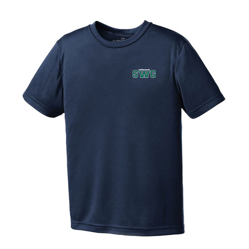 SWG ATC Youth Pro Team Short Sleeve Tee - Navy (142-E1-NY)