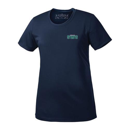 SWG ATC Ladies Pro Team Short Sleeve Tee - Navy (142-K-NY)