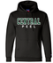 CPS Champion Powerblend ECO Fleece Hoodie - Black (CPS-H-BK)