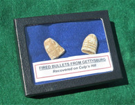 Fired bullets from Culp's Hill, Gettysburg (ON HOLD,BS)