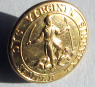 Beautiful Confederate Virginia Button (SOLD)