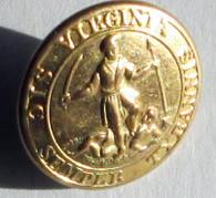 Beautiful Confederate Virginia Button (SOLD)