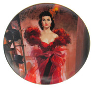 """Numbered """"Gone With the Wind"""" collector plate """"Scarlett's Resolve"""" (SOLD)"""