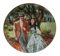 "Numbered ""Gone With the Wind"" collector plate ""Home to Tara"""