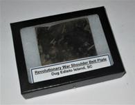 Very Rare! Revolutionary War Shoulder Belt Plate, dug SC