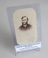 CDV photograph of General Hugh Judson Kilpatrick
