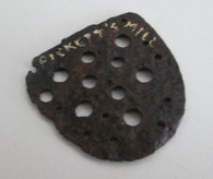 Boot/Brogan Heel Plate from Jonesboro Battlefield, GA (SOLD)