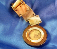 Civil War Watch Fob with Generals Photos - rare and unique
