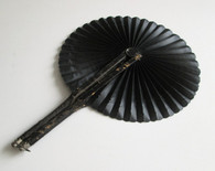 Civil War Mourning Fan