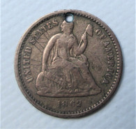 "1862 Civil War ""Love Token"" with name (SOLD)"