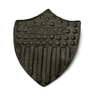 """Civil War Patriotic Shield Pin with """"Union"""" and stars (SOLD)"""