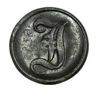 "Confederate Infantry ""I"" button, Bentonville, NC"