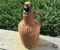Rare! Civil War Small-size Rattan Wine jug (SOLD)