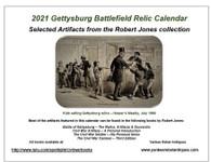 NEW - 2021 Gettysburg Battlefield Relic Calendar