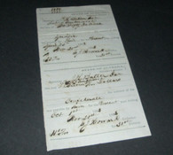 "Confederate Alabama War-Tax receipts, ""1863"""
