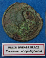 Eagle Breast Plate from Spotsylvania, great provenance (SOLD)