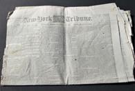 "Newspaper ""New York Tribune"", Dec. 19, 1862 - Battle of Fredericksburg"