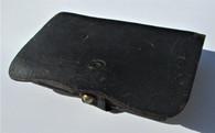 Leather Civil War Pistol Cartridge Box