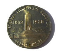 Gettysburg 1938 75th Reunion Token (SOLD,DS)