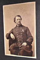 CDV Image of General Horatio Wright, 6th Corp Division Commander at Gettysburg
