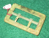 Very Rare - Confederate Carbine Sling Buckle, 57th Virginia camp