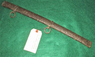 Section of Cavalry Saber scabbard from Antietam battlefield