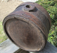 Revolutionary War/War of 1812 Wood Drum Canteen (SOLD)