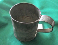 Civil War Federal-issue Tin Cup (SOLD,BH)