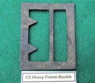 Rare - Confederate Heavy Frame Buckle