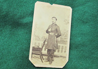 Original CDV Photograph of Lt. Gibb, 148th Pennsylvania Infantry