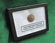 "Eagle Button from ""Valley of Death"", Gettysburg (SOLD,BS)"