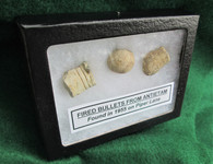 Fired bullets from Piper Farm, Antietam - 1955 (SOLD)