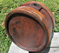 Large Wooden Canteen, North Carolina