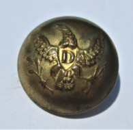 "Beautiful Non-dug Dragoon ""D"" Button (SOLD,LT)"